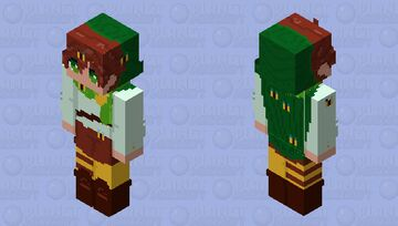 The Misadventures Of The Bee Boy - rce Minecraft Skin