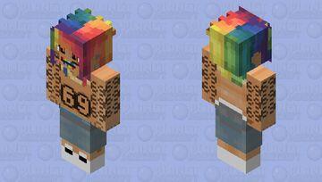 Tekashi 6ix9ine Minecraft Skin