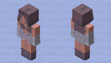 𝖎𝖓𝖙𝖔 𝖞𝖔𝖚 - 𝔞𝔯𝔦𝔞𝔫𝔞 𝔤𝔯𝔞𝔫𝔡𝔢 Minecraft Skin