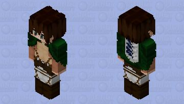 HD Attack on Titan Minecraft Skin