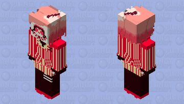 Swap!Cherri Bomb (swapped with Sir Pentious) | Hazbin Hotel Minecraft Skin