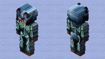Spoopy Tanuki Minecraft Skin