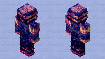 Darkfire HellDroid [HD Robot Skin] Minecraft Skin