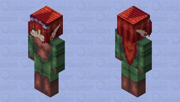 Bloodelf Huntress Minecraft Skin
