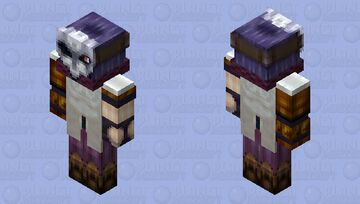 Jhin   League Of Legends   2x HD Minecraft Skin