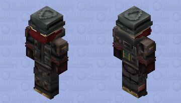 Sledge (Doktor's Curse) | R6S Minecraft Skin