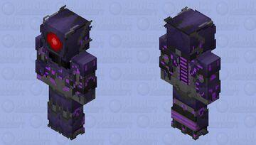 Transformers Prime Shockwave Minecraft Skin