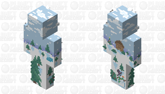 Snow | Spongie's 12 Day of Skinmas :: Day 1 Minecraft Skin