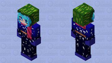 Shin Tsukimi in a kimono (Kimi ga shine) (Your turn to die) YTTD Minecraft Skin