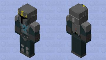 Pre Vizsla HD 3X! (link in discription since can't post that hd on PMC) star wars Minecraft Skin