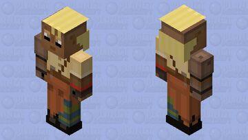 Val (Minecraft: Story Mode Season 2) Minecraft Skin