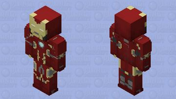 IRON MAN MCU MK 45 AGE OF ULTRON Minecraft Skin