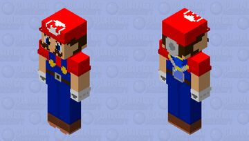 Mario Hd (Sunshine) Minecraft Skin