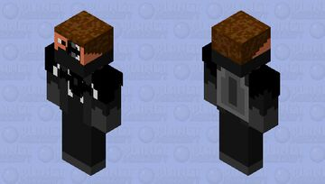 cyborg hunter Minecraft Skin