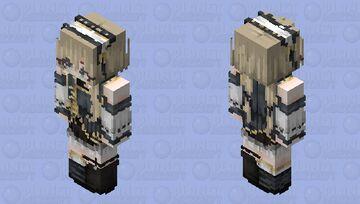 HD Royal Maiden Minecraft Skin