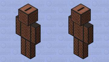 Human Jukebox. (Bedrock) Minecraft Skin
