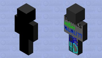 Clear HD High quality details Minecraft Skin