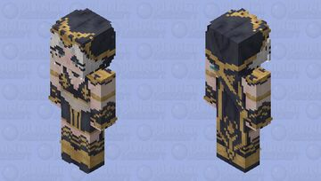 ashe lol Minecraft Skin