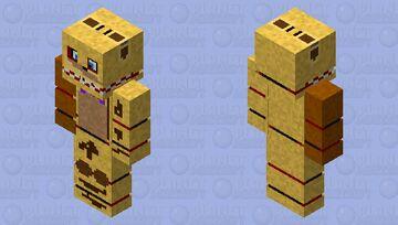 rock fred fnaf 5 Minecraft Skin