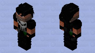 Frank Castle Minecraft Skin