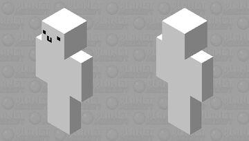 virus l'homme en blanc Minecraft Skin