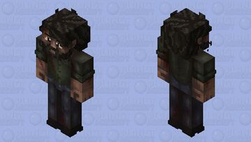 Joel the last of us Minecraft Skin