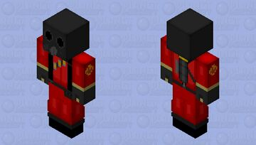 Team Fortress 2 Pyro (for Bedrock) Minecraft Skin