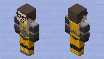 Gordon Freeman (Mk. V HEV Suit) - Half Life 2 Minecraft Skin