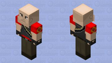 Team Fortress 2 Heavy Weapons Guy Minecraft Skin