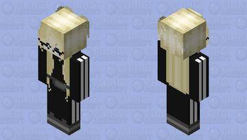 Blond adidas girl Minecraft Skin