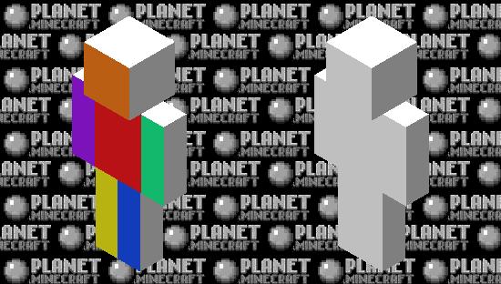 Skin template for GIMP Minecraft Skin