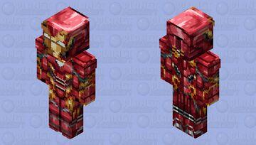 Iron Mannnn Minecraft Skin