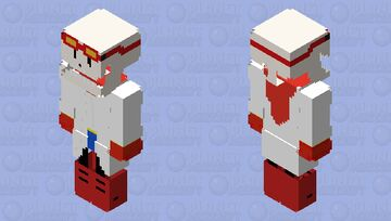 Inverted Fate Papyrus Minecraft Skin