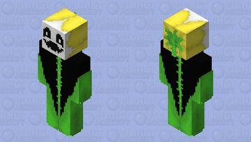 Flowey The Flower Minecraft Skin