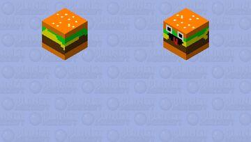 burger Minecraft Skin