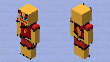kimono Kitsune Fox (WIP) Minecraft Skin