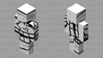 Trollface skin Minecraft Skin