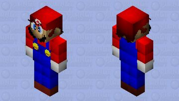Super Mario 64 Beta - Mario Minecraft Skin
