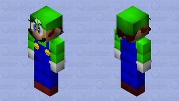 Super Mario 64 Beta - Luigi Minecraft Skin