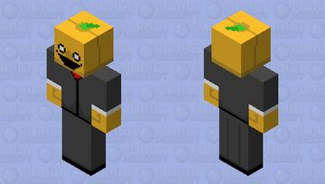 (Spooktober event!) Spoopy pumpkin 🎃 Minecraft Skin