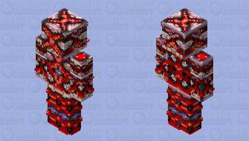 Red X Minecraft Skin