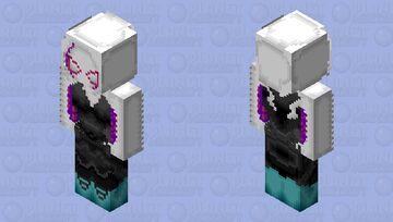 Spider-Gwen Minecraft Skin