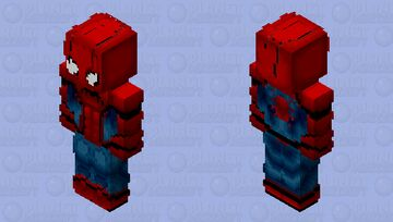 Spider-Man Homecoming Minecraft Skin
