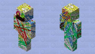 ERROR 666 Minecraft Skin