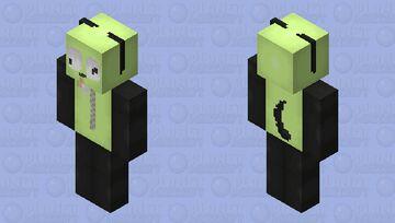 HD Gir from Invader Zim (For Gite) + Speedpaint Minecraft Skin