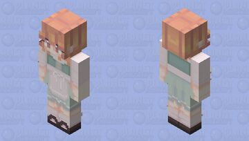 cottagecore fae // oc Minecraft Skin