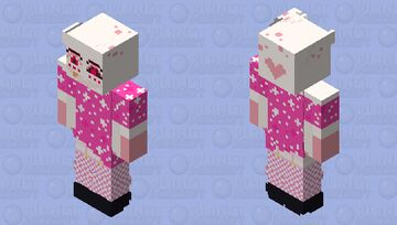 Angel Dust (cute outfits|№5) Minecraft Skin