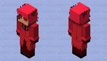 1P Alastor Minecraft Skin