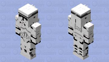 clone trooper 128x128 Minecraft Skin