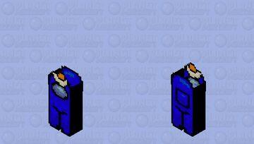 Among Us - Malia (Blue) Minecraft Skin